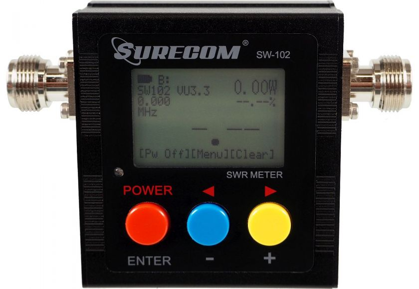 وات متر و فرکانس متر شورکام مدل SW102